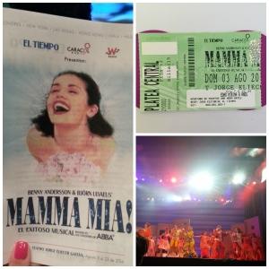 Mamma Mia en Bogota