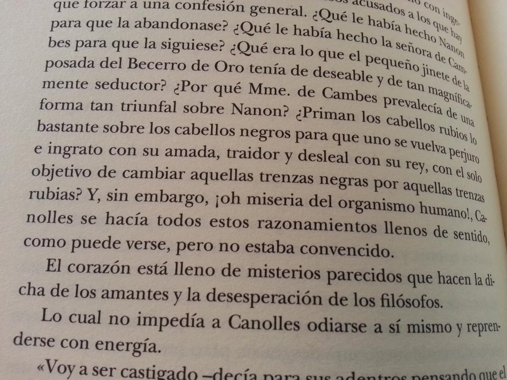 Fragmento del libro La guerra de las mujeres de Alejandro Dumas