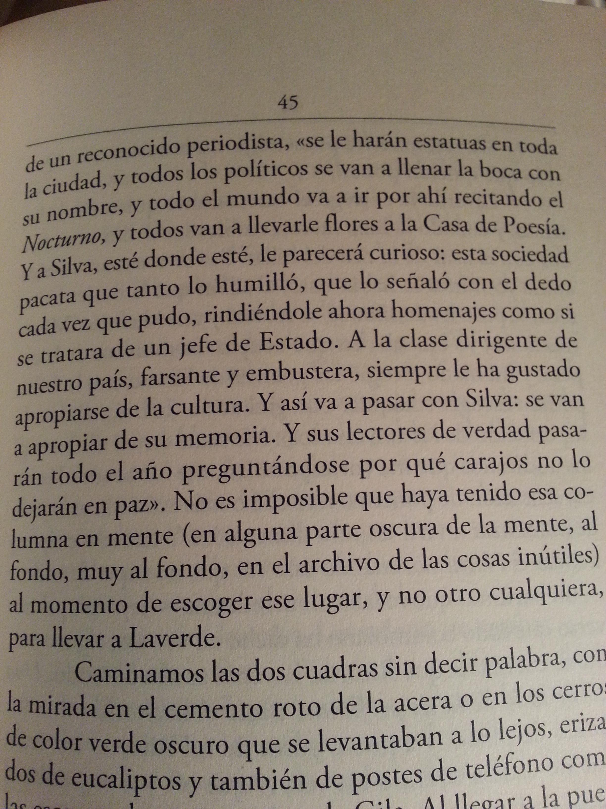 Fragmento del libro El ruido de las cosas al caer de Juan Gabriel Vásquez