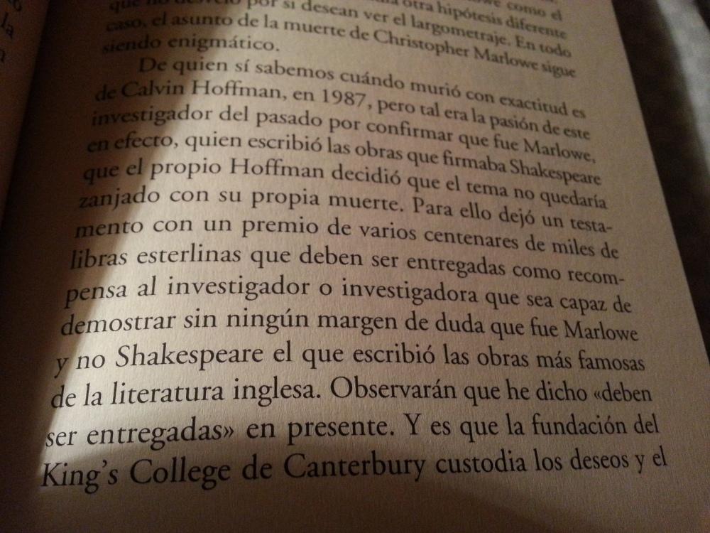 Fragmento del libro La noche en que Frankenstein leyó el Quijote de Santiago Posteguillo