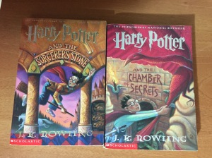 Harry Potter books 1 and 2