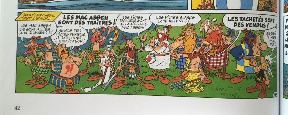 Astérix chez es Pictes