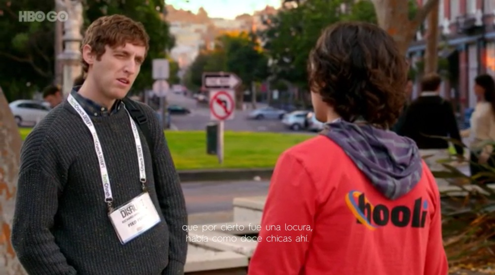 Escena de Sillicon Valley