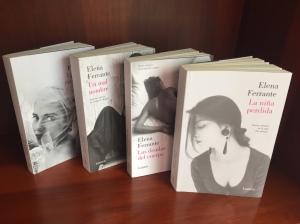 Tetralogía de Las dos amigas de Elena Ferrante