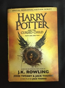 Libro Harry Potter and the cursed child de J.K.Rowling, John Tiffany y Jack Thorne