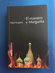 Libro El maestro y Margarita de Mijaíl Bulgákov