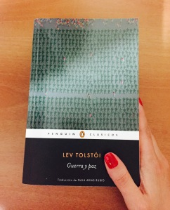 Libro Guerra y paz de Lev Tolstói