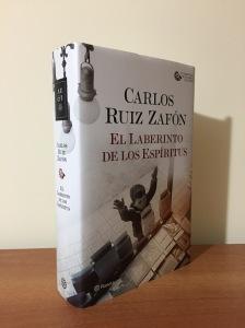 Libro El laberinto de los espíritus de Carlos Ruiz Zafón