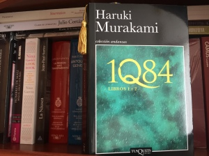 Libro 1Q84 de Haruki Murakami