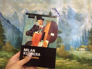 Libro La despedida de Milan Kundera