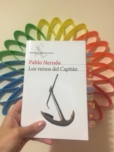 Libro Los versos del Capitán de Pablo Neruda