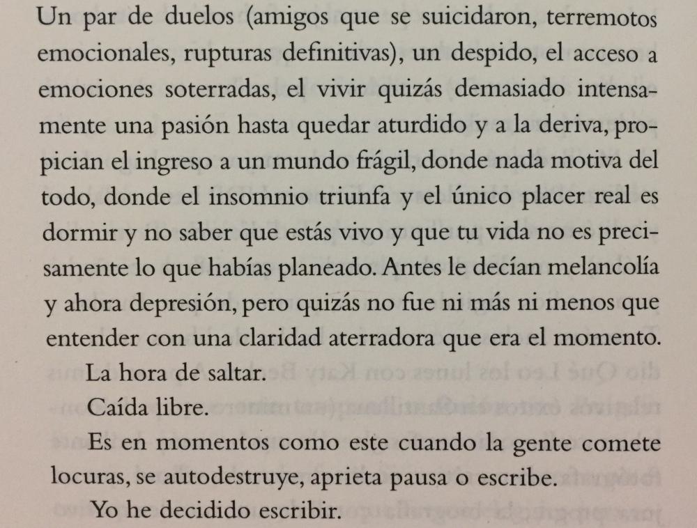 Fragmento de sudor de Alberto Fuguet