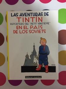 Libro Tintín en el país de los soviets de Hergé