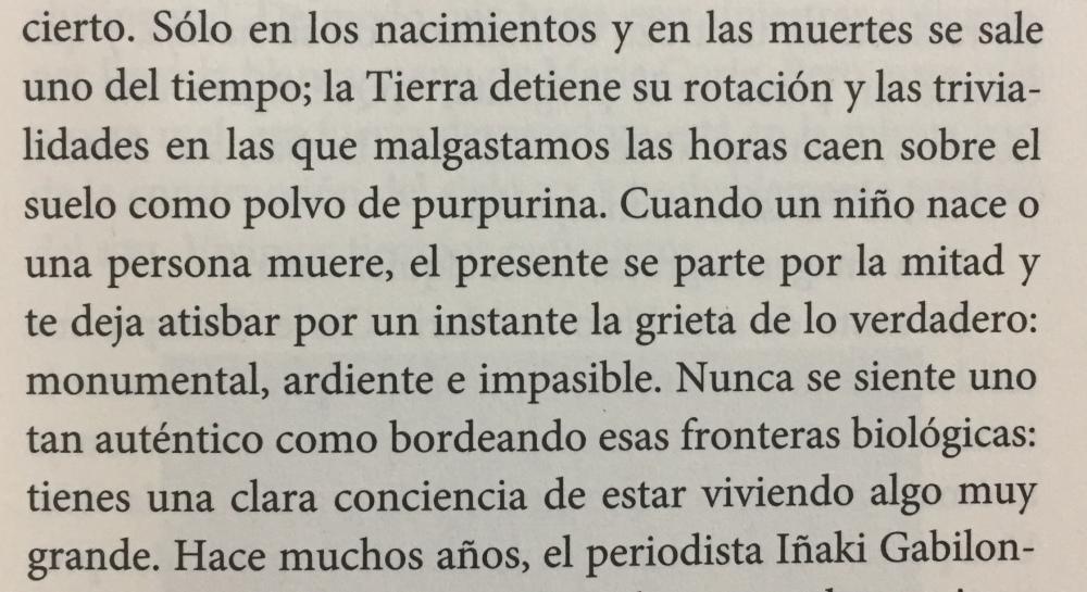 Fragmento del libro La ridícula idea de no volver a verte de Rosa Montero