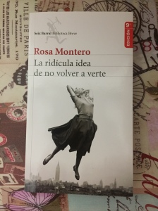 Libro La ridícula idea de no volver a verte de Rosa Montero