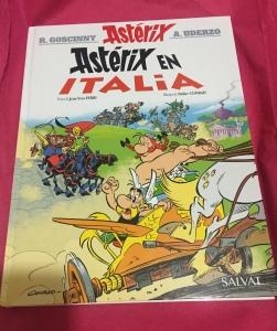 Libro Astérix en Italia