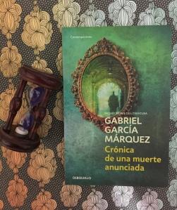 Libro Crónica de una muerte anunciada de Gabriel García Márquez