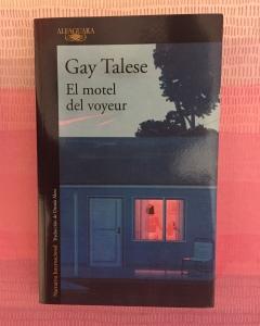Libro El motel del voyeur de Gay Talese