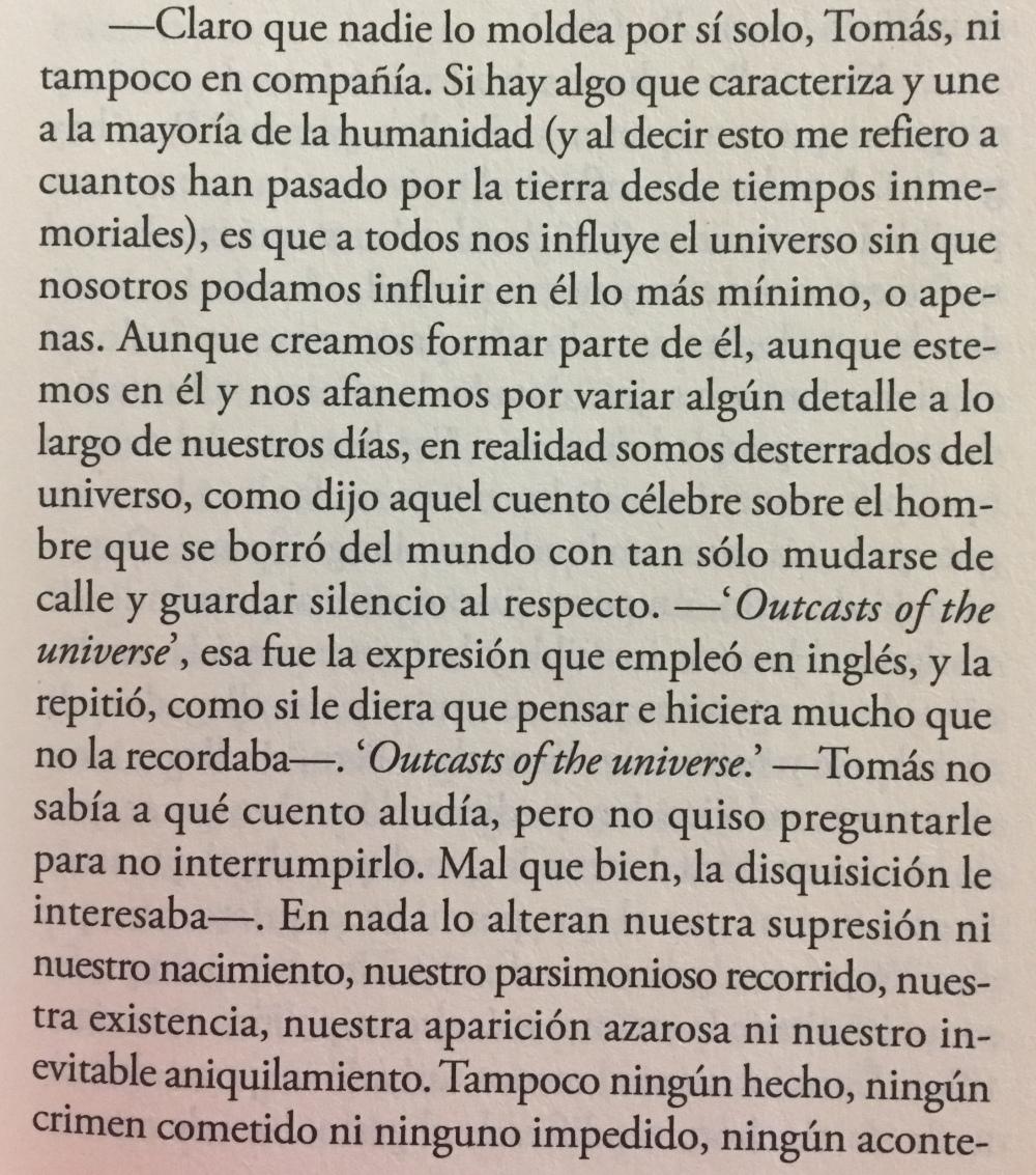 Fragmento del libro Berta Isla de Javier Marías