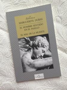 Libro El hombre sentado en el pasillo - El mal de la muerte de Marguerite Duras