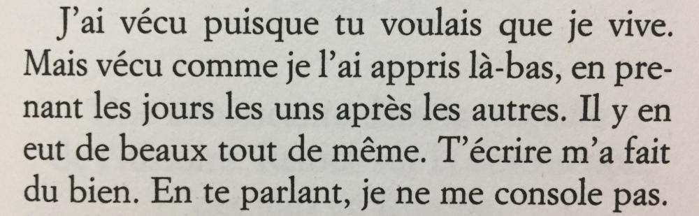 Fragmento del libro Et tu n'es pas revenu de Marceline Loridan-Ivens