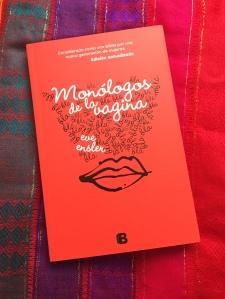 Libro Monólogos de la vagina de Eve Ensler