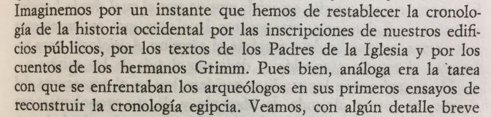 Fragmento del libro Dioses Tumbas y Sabios de C.W. Ceram