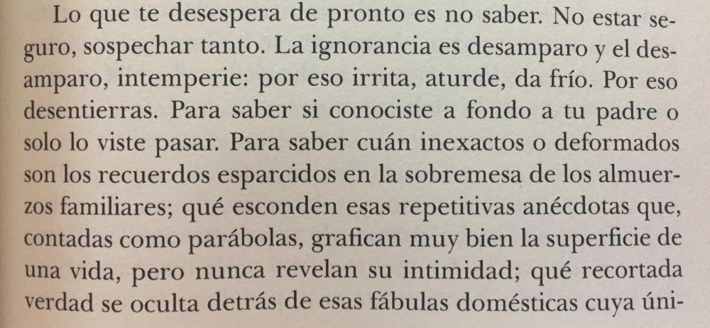 Fragmento del libro La distancia que nos separa de Renato Cisneros