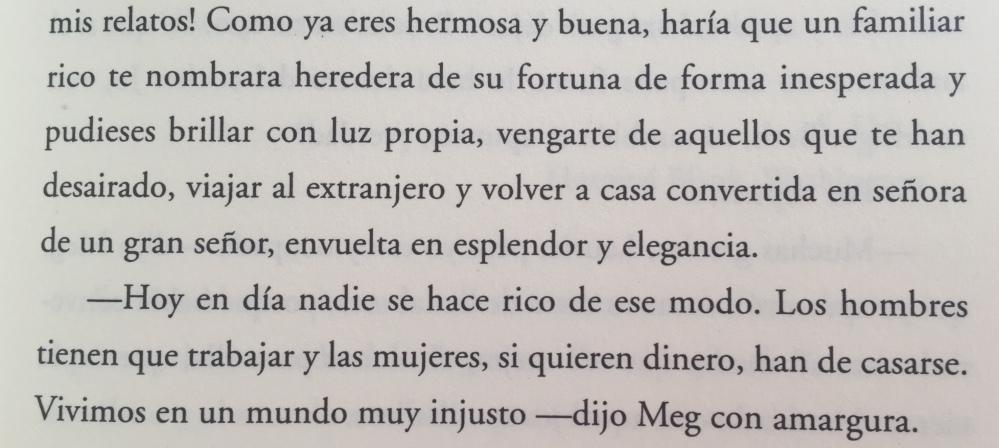Fragmento del libro Mujercitas de Louisa May Alcott