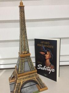 Libro Sabotaje de Arturo Pérez-Reverte