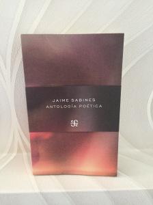 Libro antología poética de Jaime Sabines