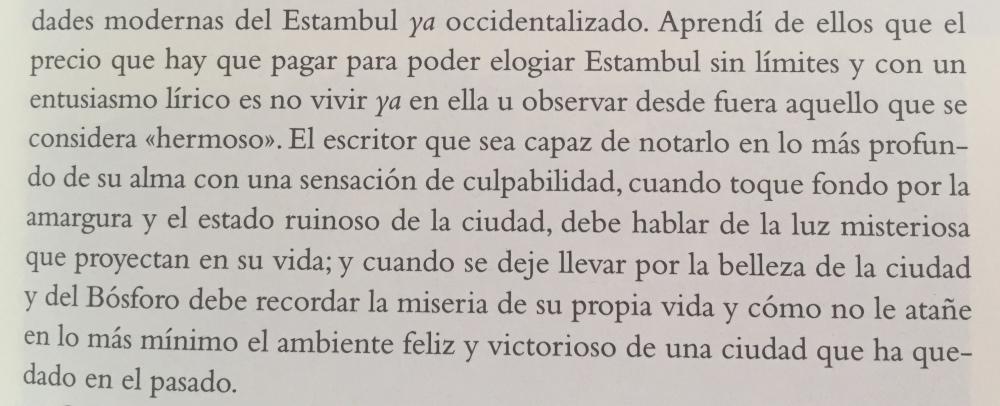 Fragmento del libro Estambul de Orhan Pamuk