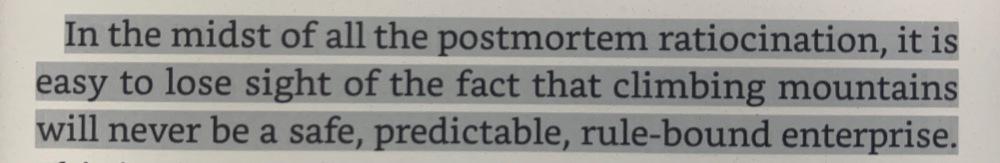 Fragmento del libro Into thin air de Jon Krakauer