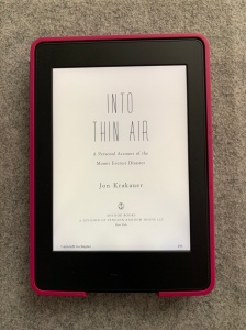 Libro Into thin air de Jon Krakauer