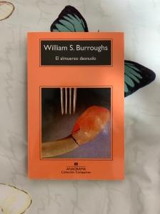Libro El almuerzo desnudo de William S. Burroughs