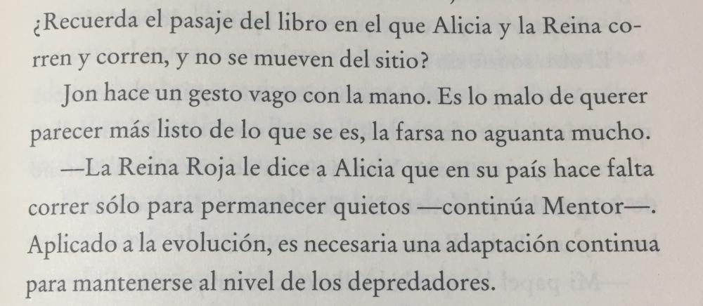 Fragmento del libro Reina roja de Juan Gómez-Jurado