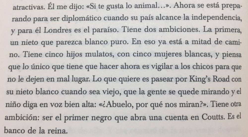 Fragmento del libro Media Vida de V.S. Naipaul