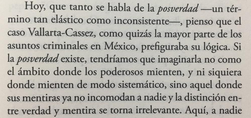 Fragmento del libro Una novela criminal de Jorge Volpi