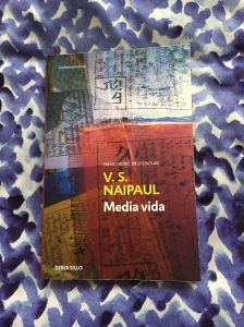 Libro Media Vida de V.S. Naipaul