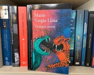 Libro Tiempos recios de Mario Vargas Llosa