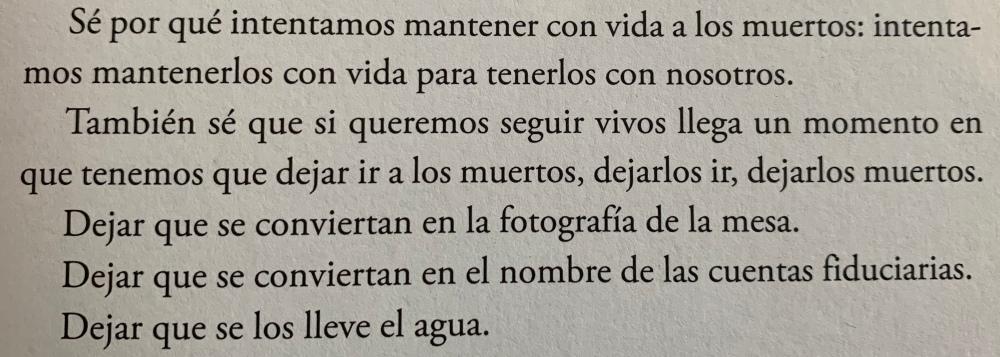 Fragmento del libro El año del pensamiento mágico de Joan Didion