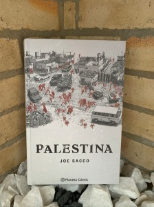 Libro Palestina de Joe Sacco