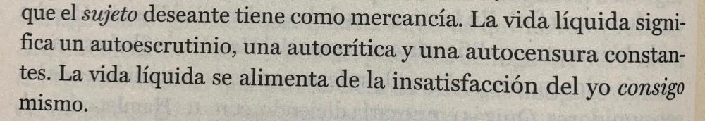 Fragmento del libro Vida líquida de Zygmunt Bauman
