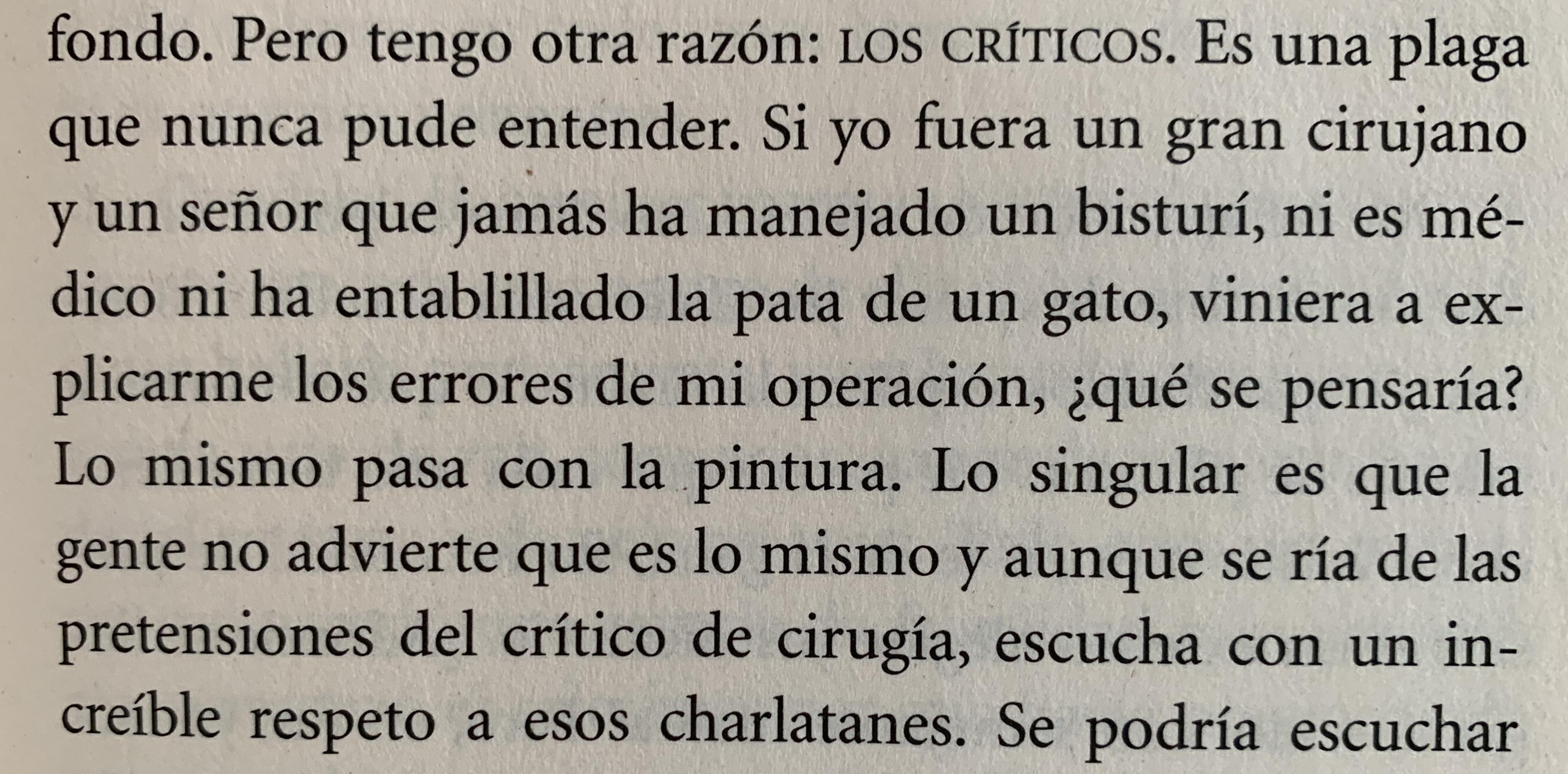 Fragmento del libro El túnel de Ernesto Sabato