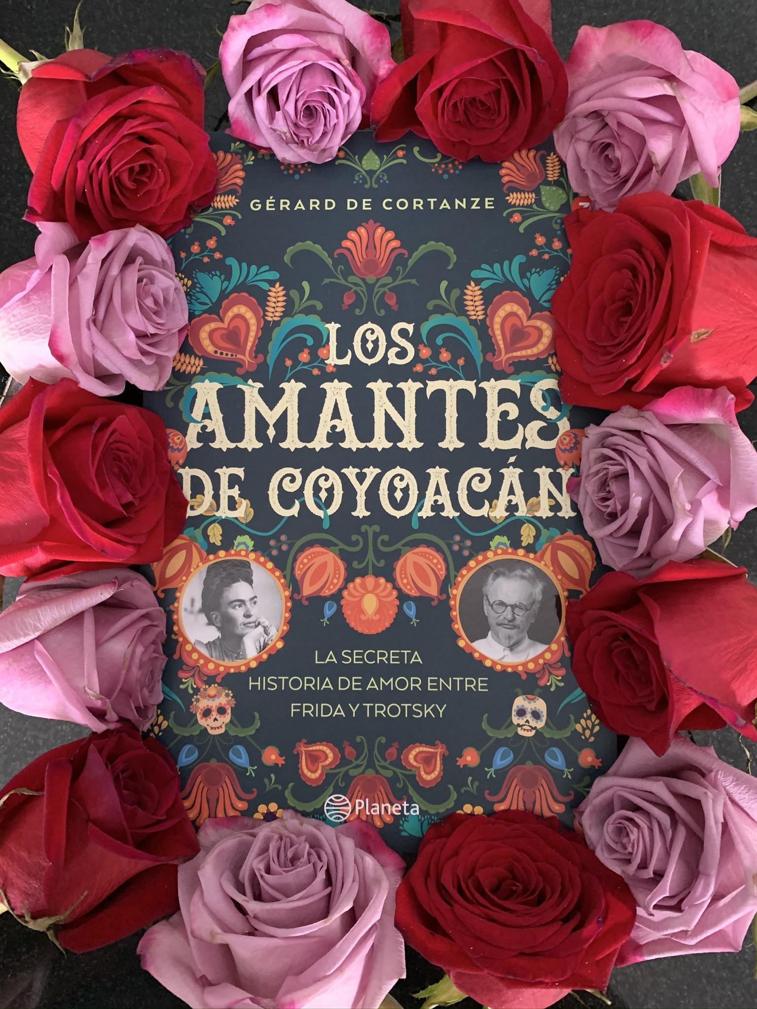 Libro Los amantes de Coyoacán de Gérard de Cortanze