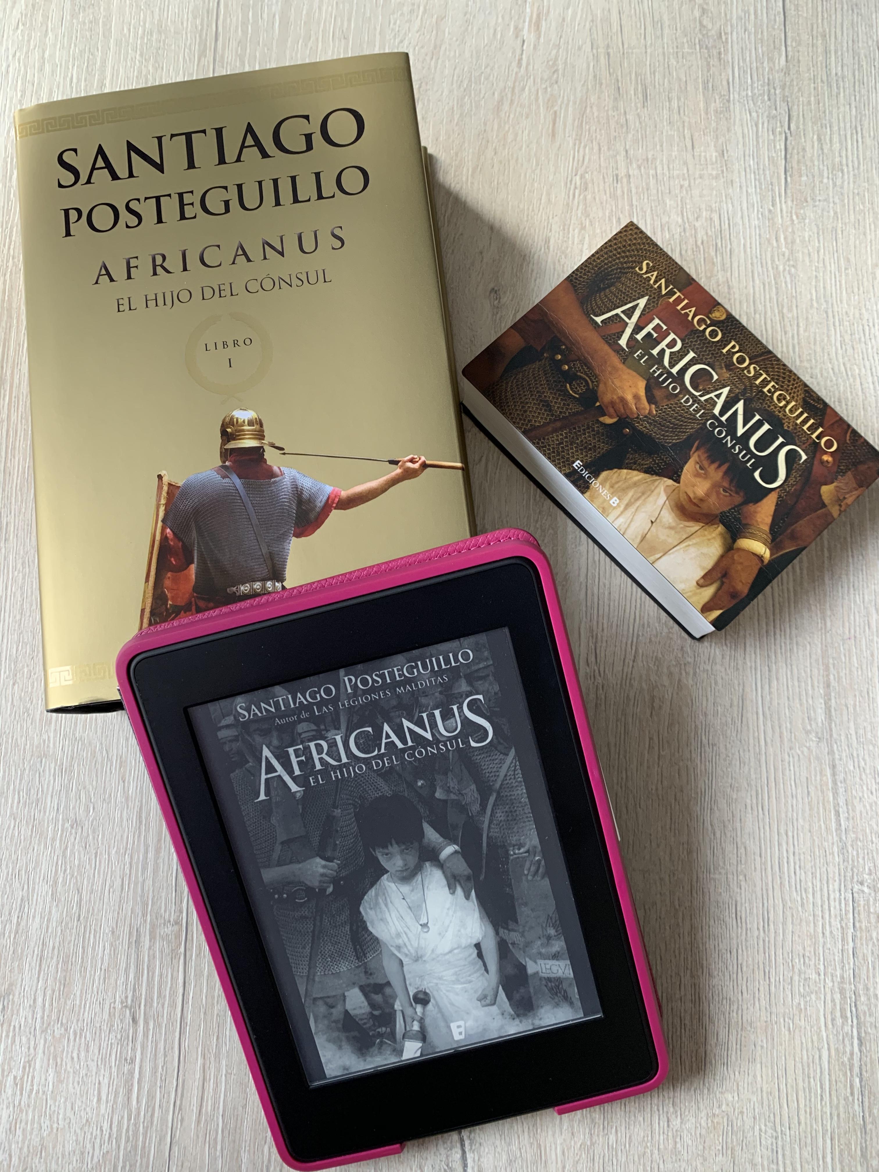 Libro Africanus: el hijo del cónsul de Santiago Posteguillo