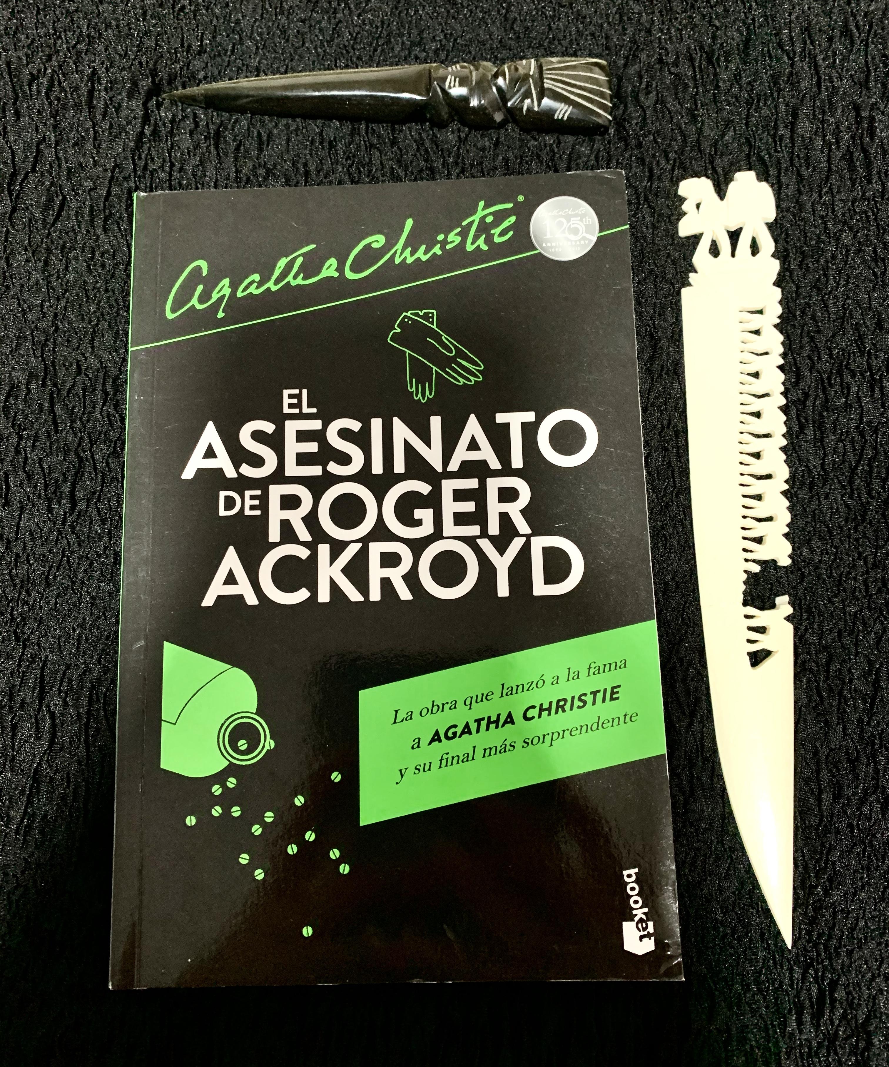 Libro El asesinato de Roger Ackroyd de Agatha Christie
