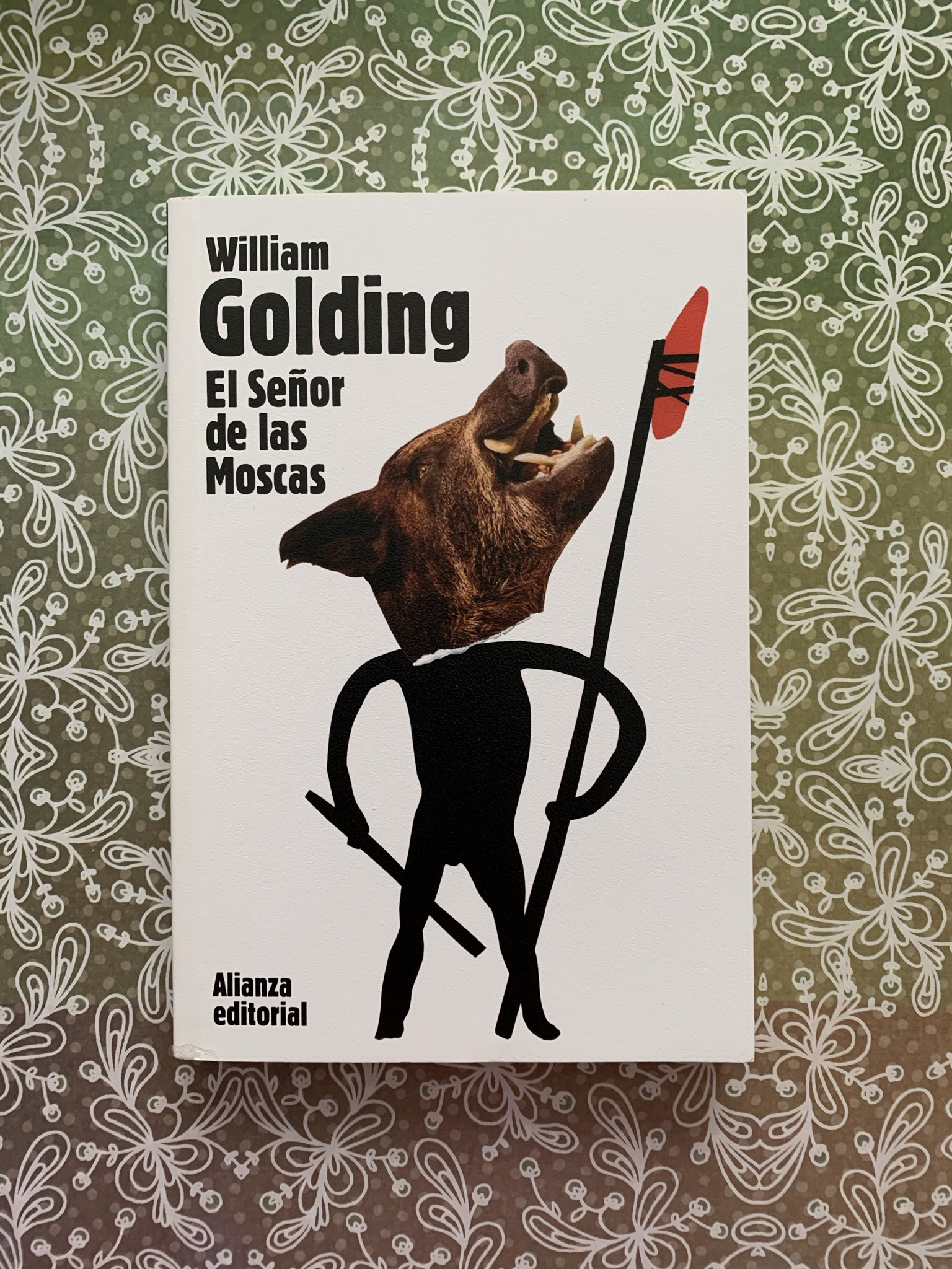 Libro El señor de las moscas de William Golding