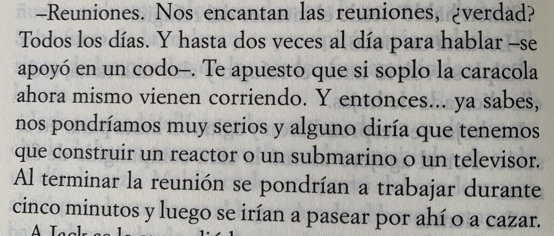 Fragmento del libro El señor de las moscas de William Golding