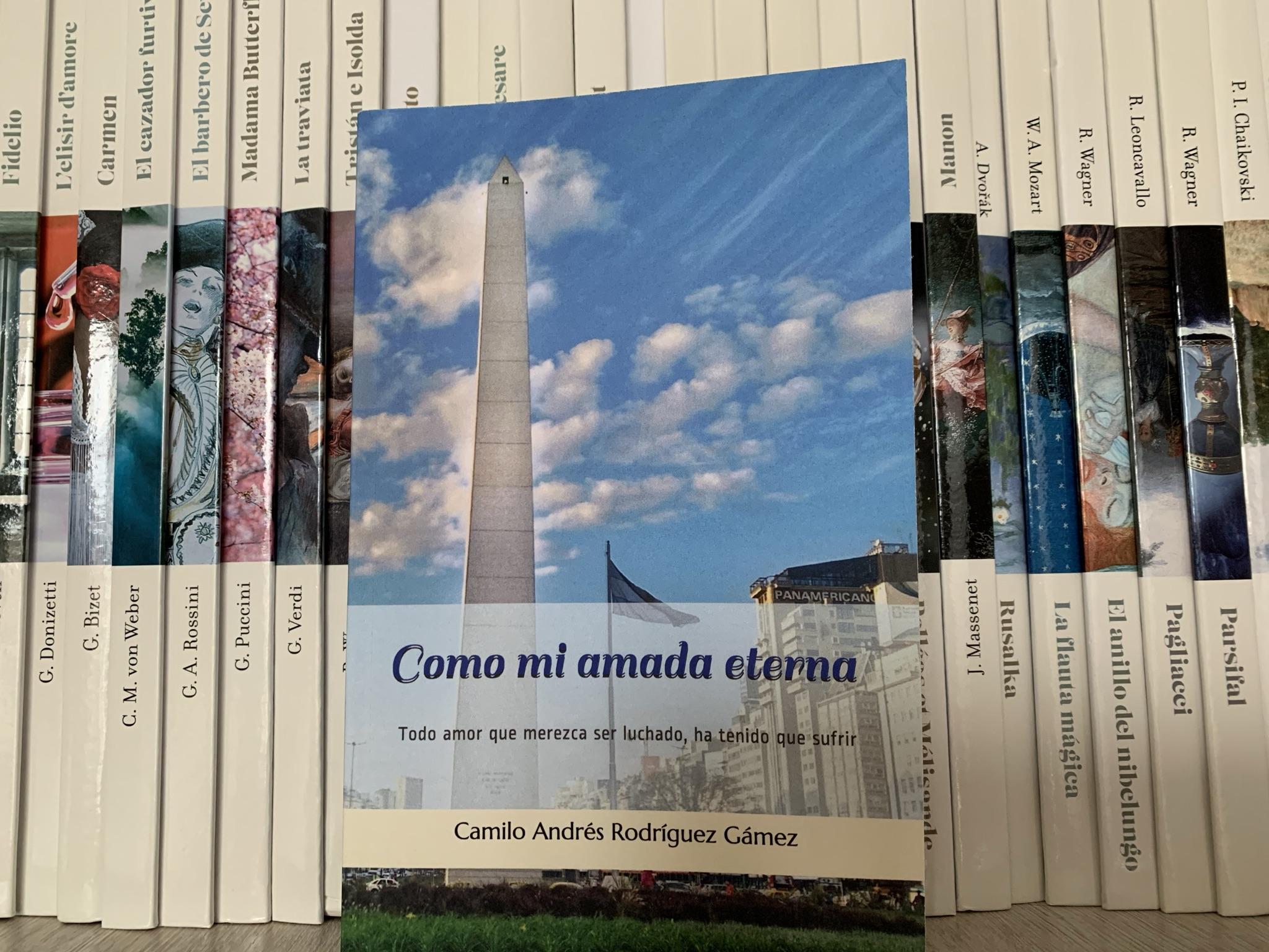Libro Como mi amada eterna de Camilo Rodríguez